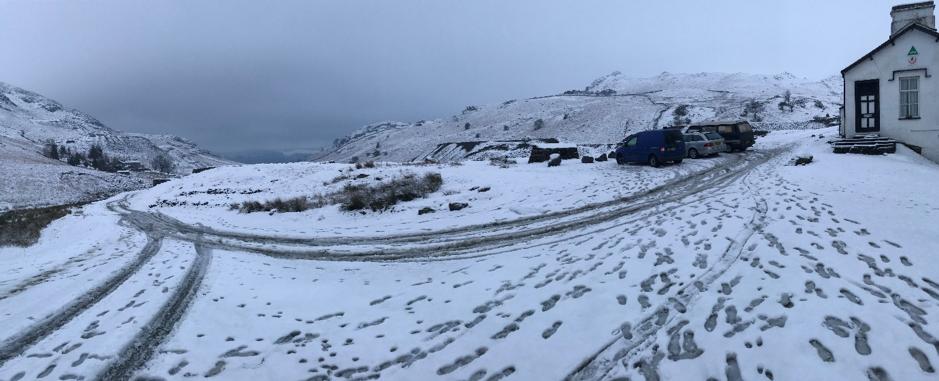 Lakes snow 2019
