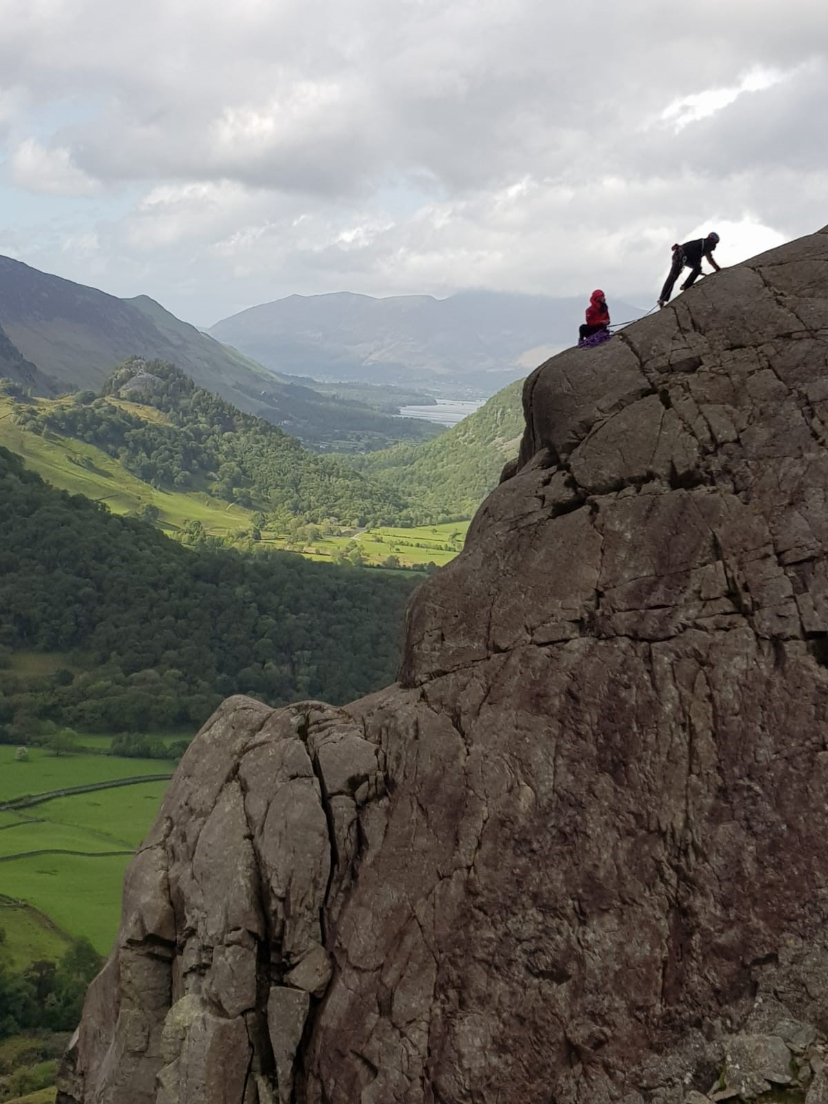 Borrowdale Climbing