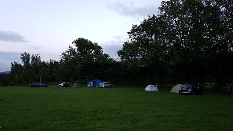 Peaks campsite
